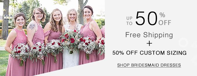 46c8c6ffe0 All Bridesmaid Dresses